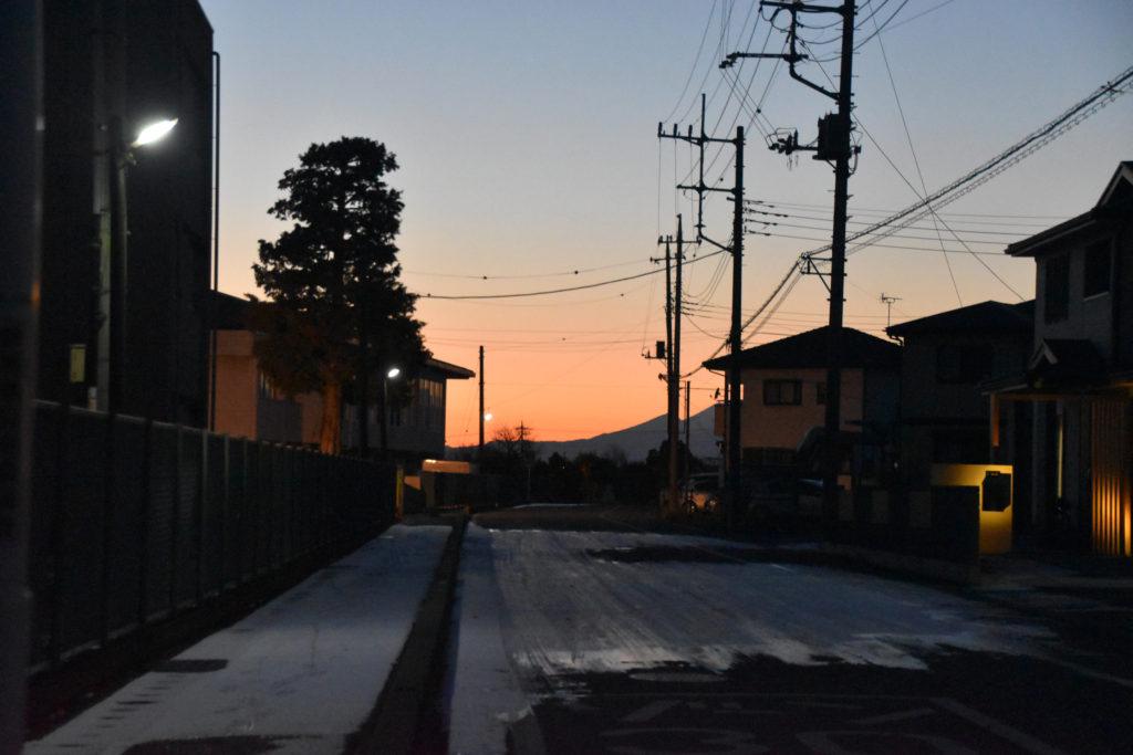 日暮れ_国定駅への道_02