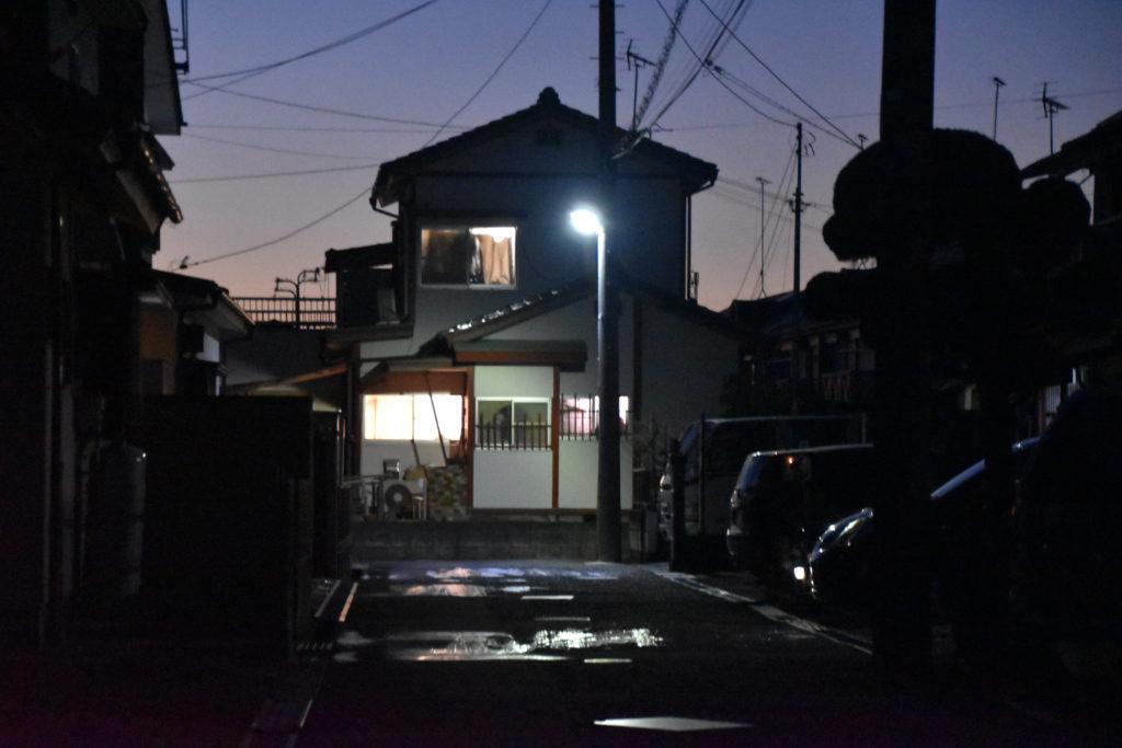 日暮れ_国定駅への道_03